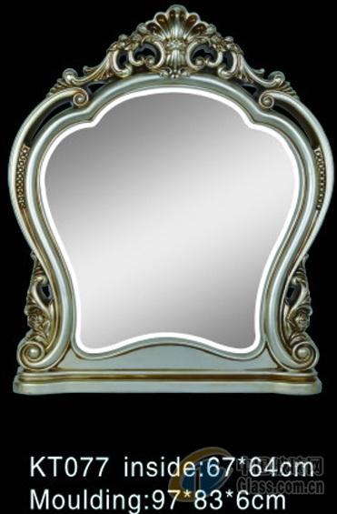 欧式镜框 影楼镜子 浴室镜kt077