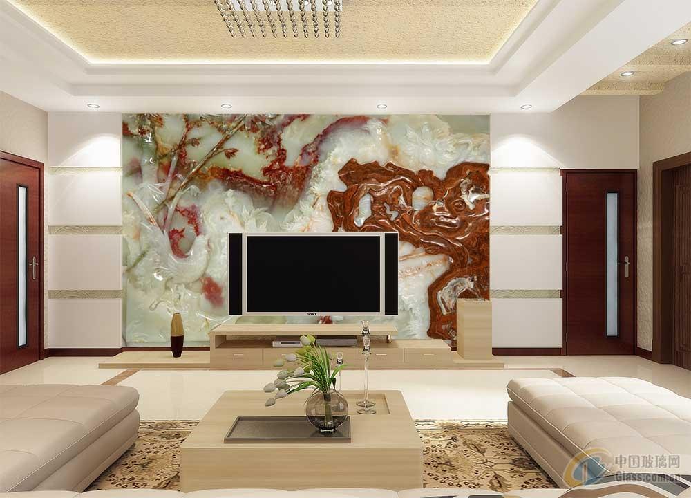 现代化客厅背景墙大厅沙发背景墙图片15