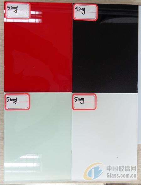 白色、黑色、彩色烤漆玻璃