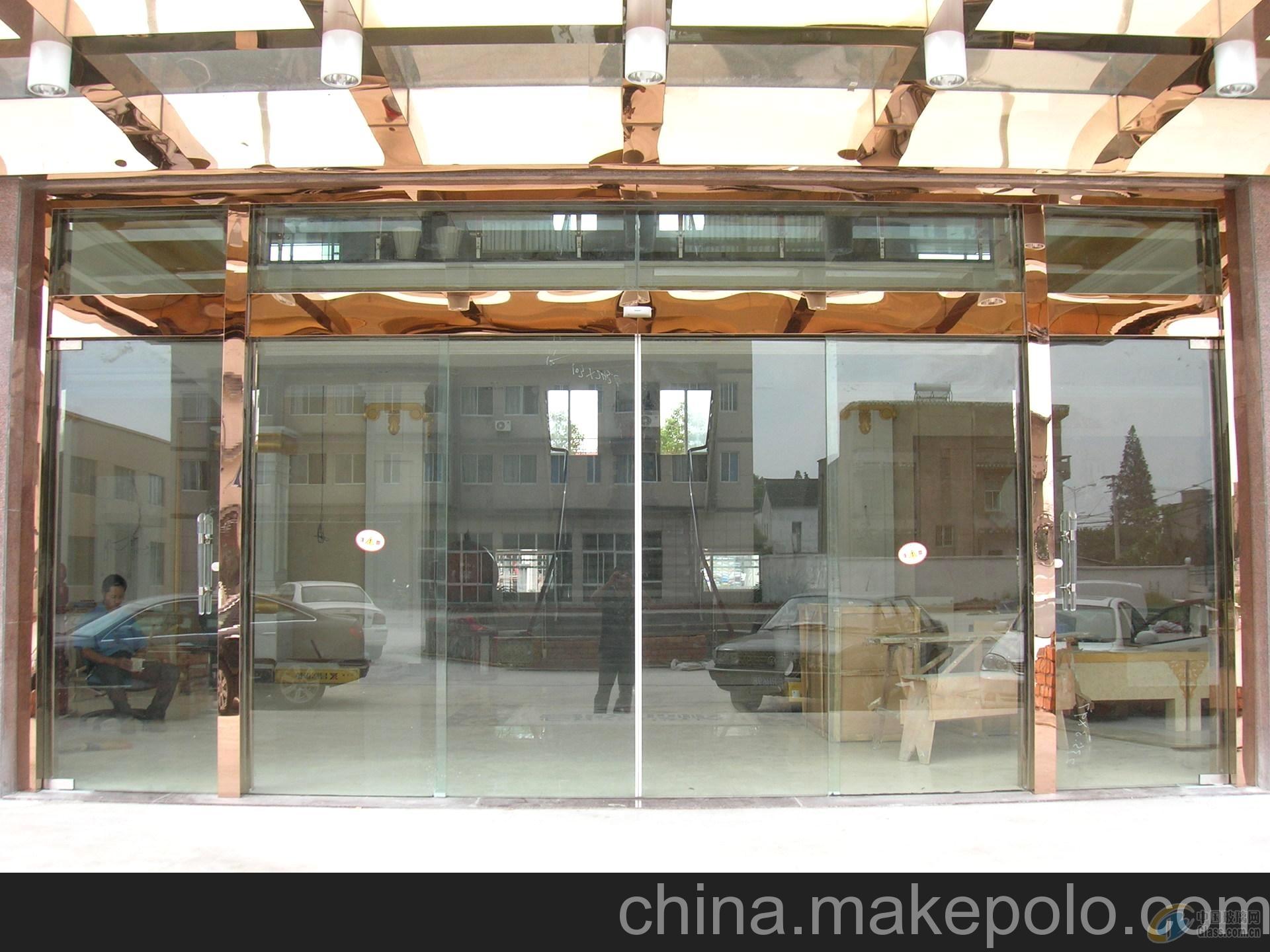 太阳宫安装玻璃门自动门感应门