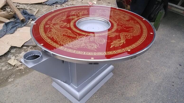 玻璃面板系列回风炉 金宸钢化图片
