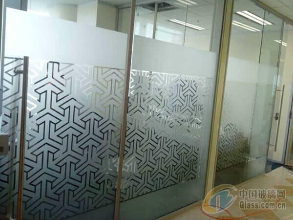 北京办公室磨砂膜隔断贴膜-玻璃贴膜-中国玻璃网