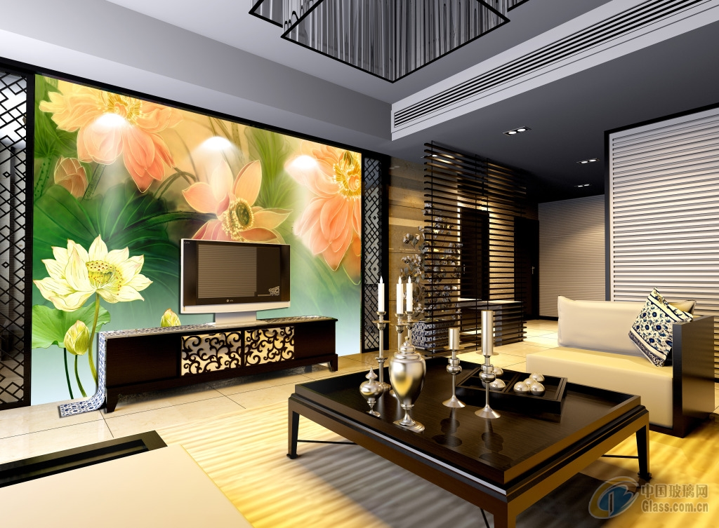 面议 供应标题:3d冰晶玻璃画背景墙  发布公司:广州市锎数码科技有限