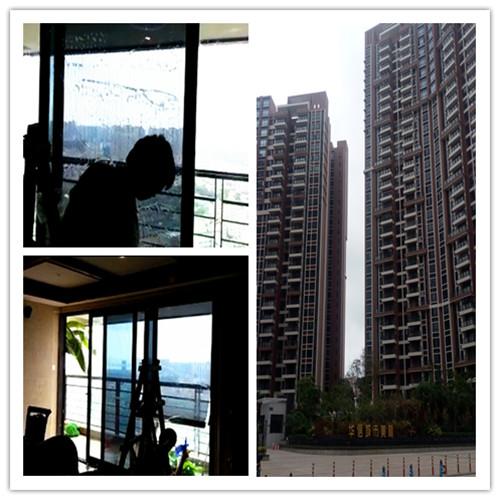 pvc风景假窗户装饰贴