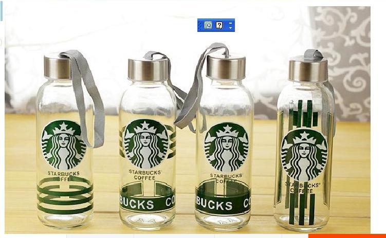 玻璃瓶创意玻璃水杯带盖密封