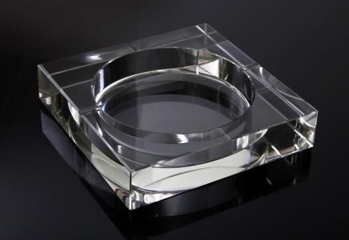 水晶直方烟缸-水晶-中国玻璃网