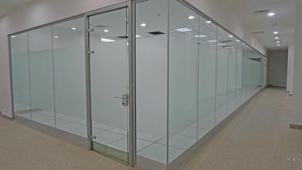 郑州玻璃贴膜酒店浴室隔断磨砂膜