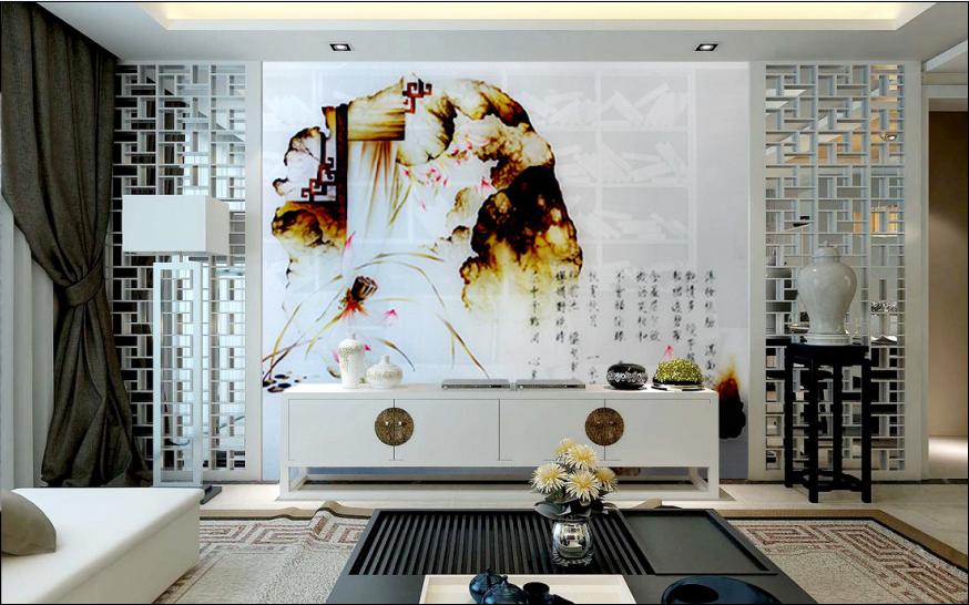 中国艺术资讯电视�_艺术涂料打造你心目中的电视背景墙