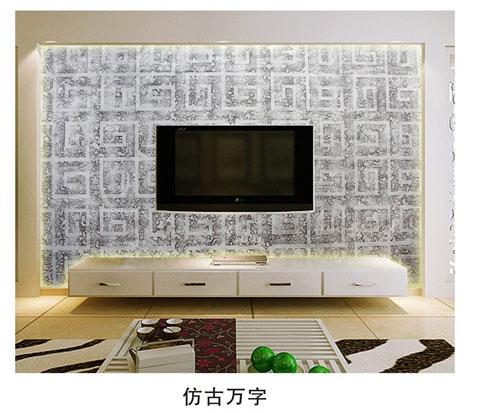 【复式客厅电视背景墙玻璃】报价_供应商_图片-沙河市