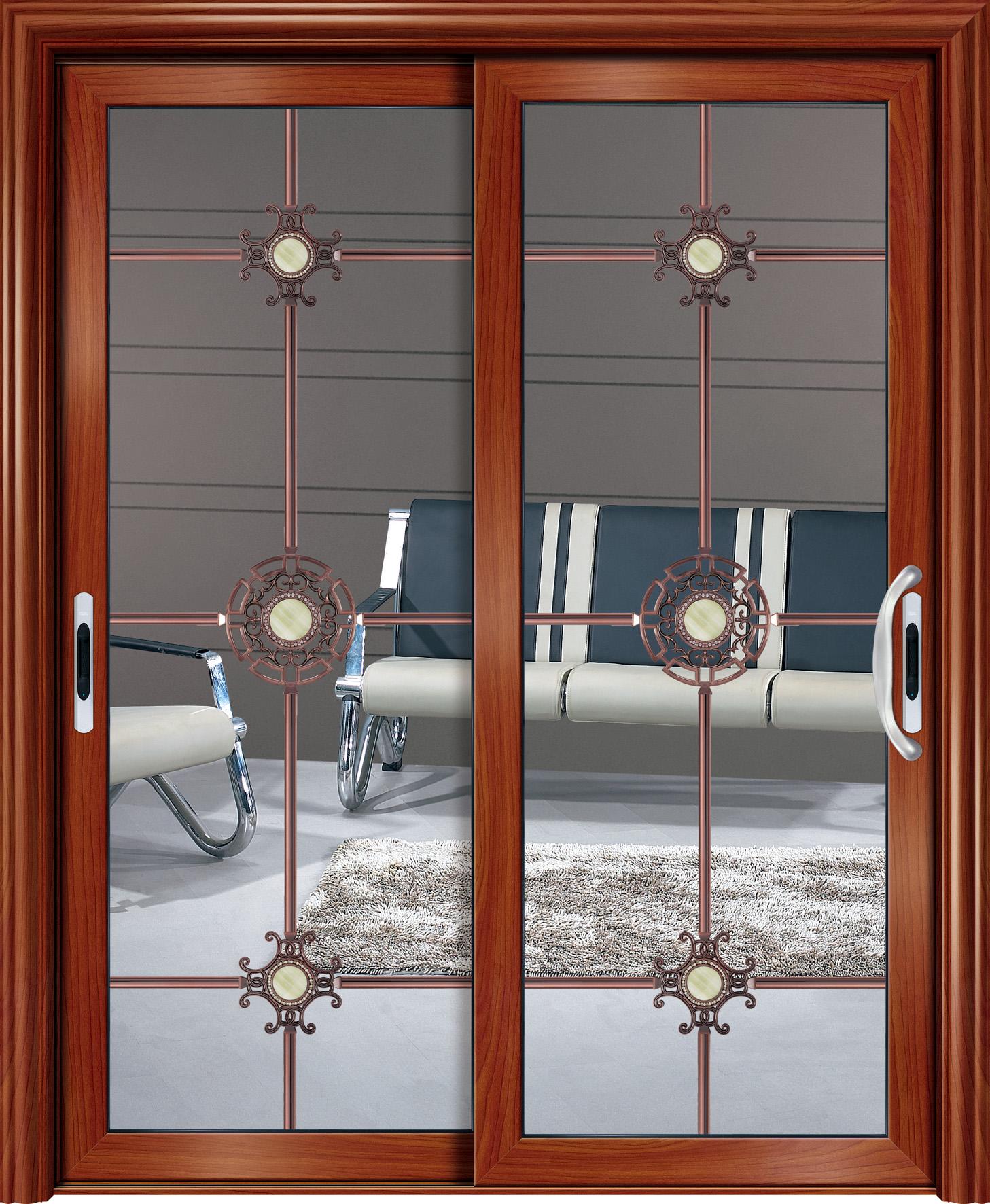 铝合金厨房隔断门 推拉门