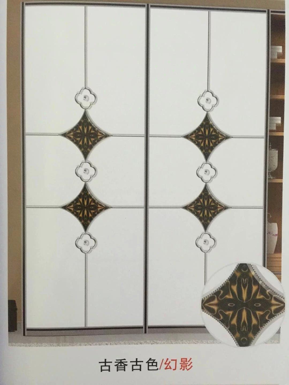 生态纳米精雕吸塑推拉门木板衣柜门