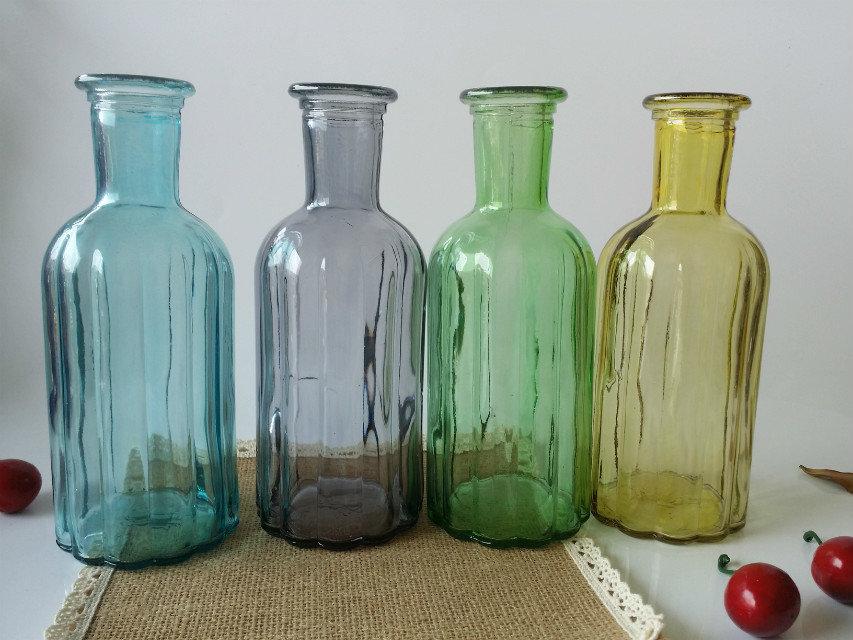 玻璃瓶工艺品瓶插花瓶装饰瓶图片