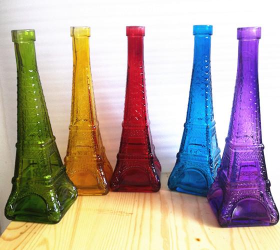 埃菲尔铁塔瓶星星瓶许愿瓶漂流瓶-玻璃瓶-中国玻璃网
