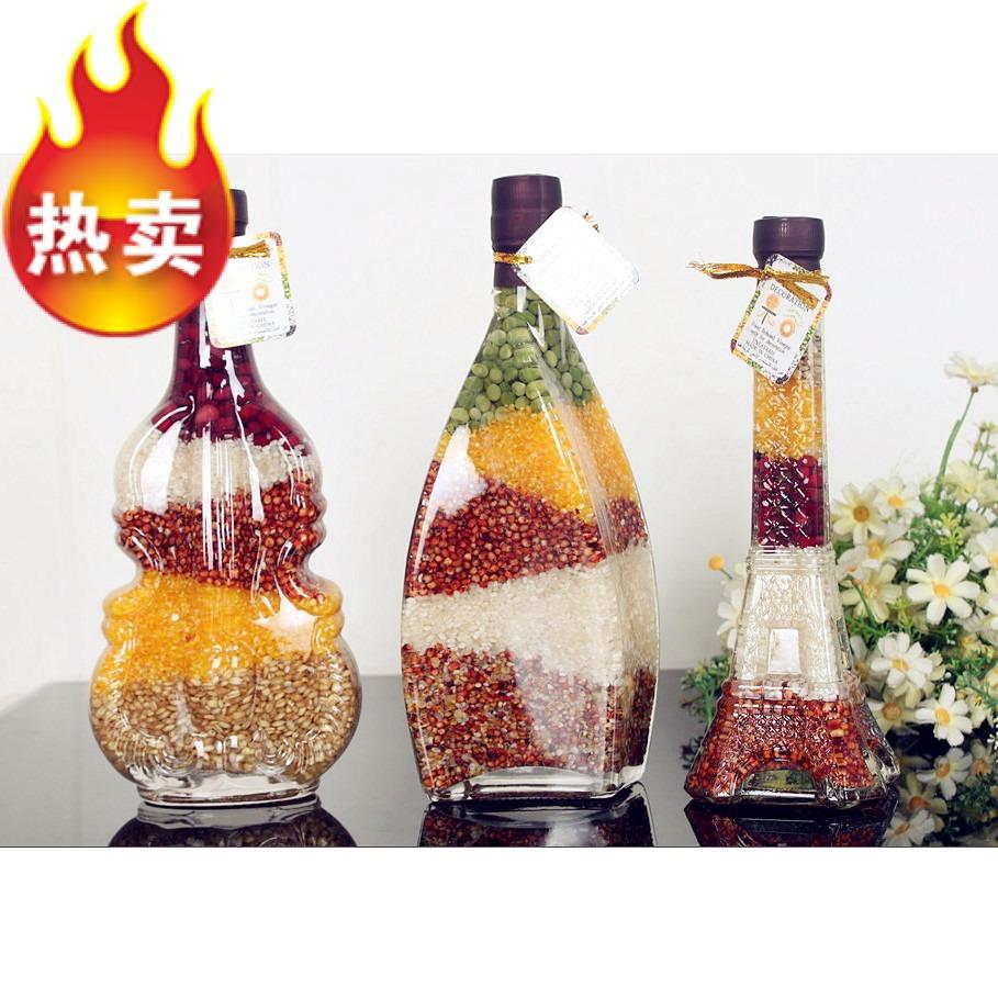 玻璃瓶创意摆件工艺品瓶图片