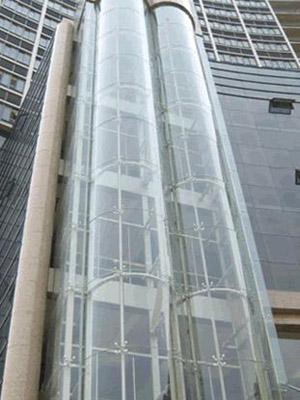 大连钢结构玻璃观光电梯