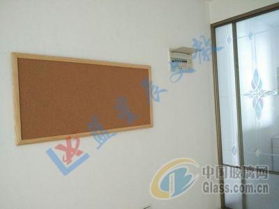 茶色边框水松板m龙华铝框软木板