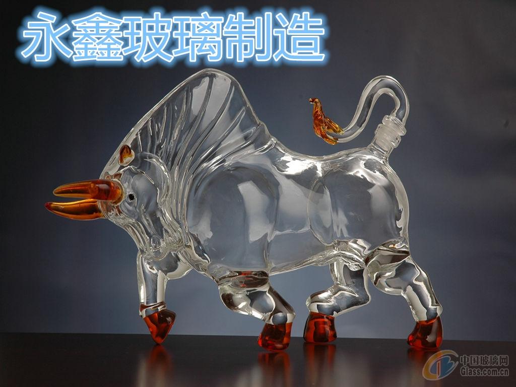 厂家供应12生肖动物造型酒瓶