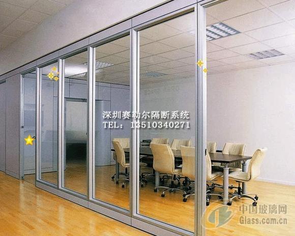 玻璃活动隔断隔音墙