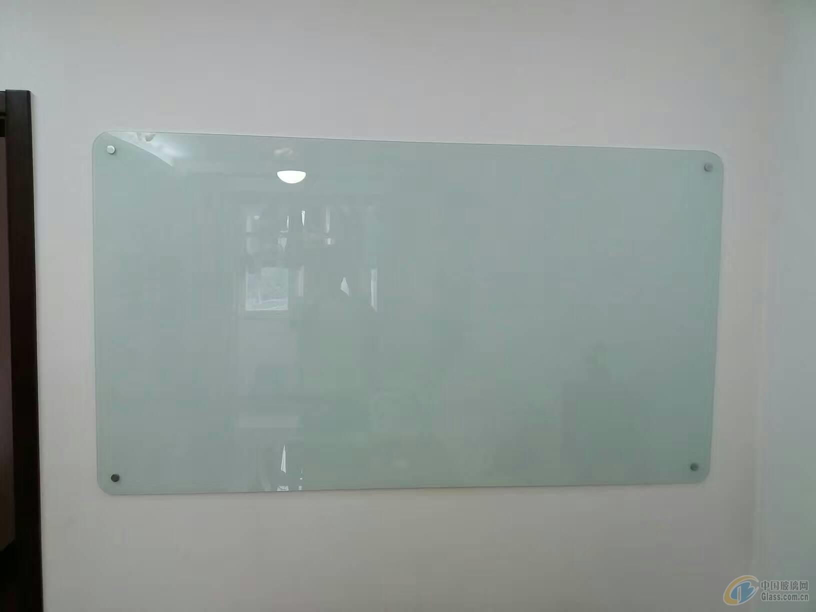 北京包安装钢化磁性玻璃白板写字板会议室玻璃白板