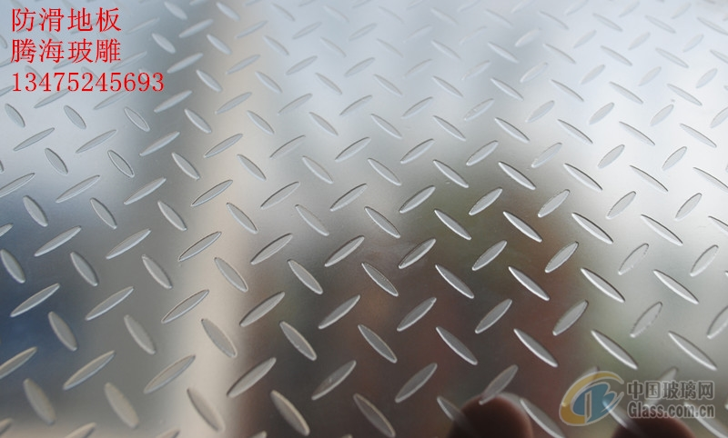 可钢化夹胶防滑地板玻璃
