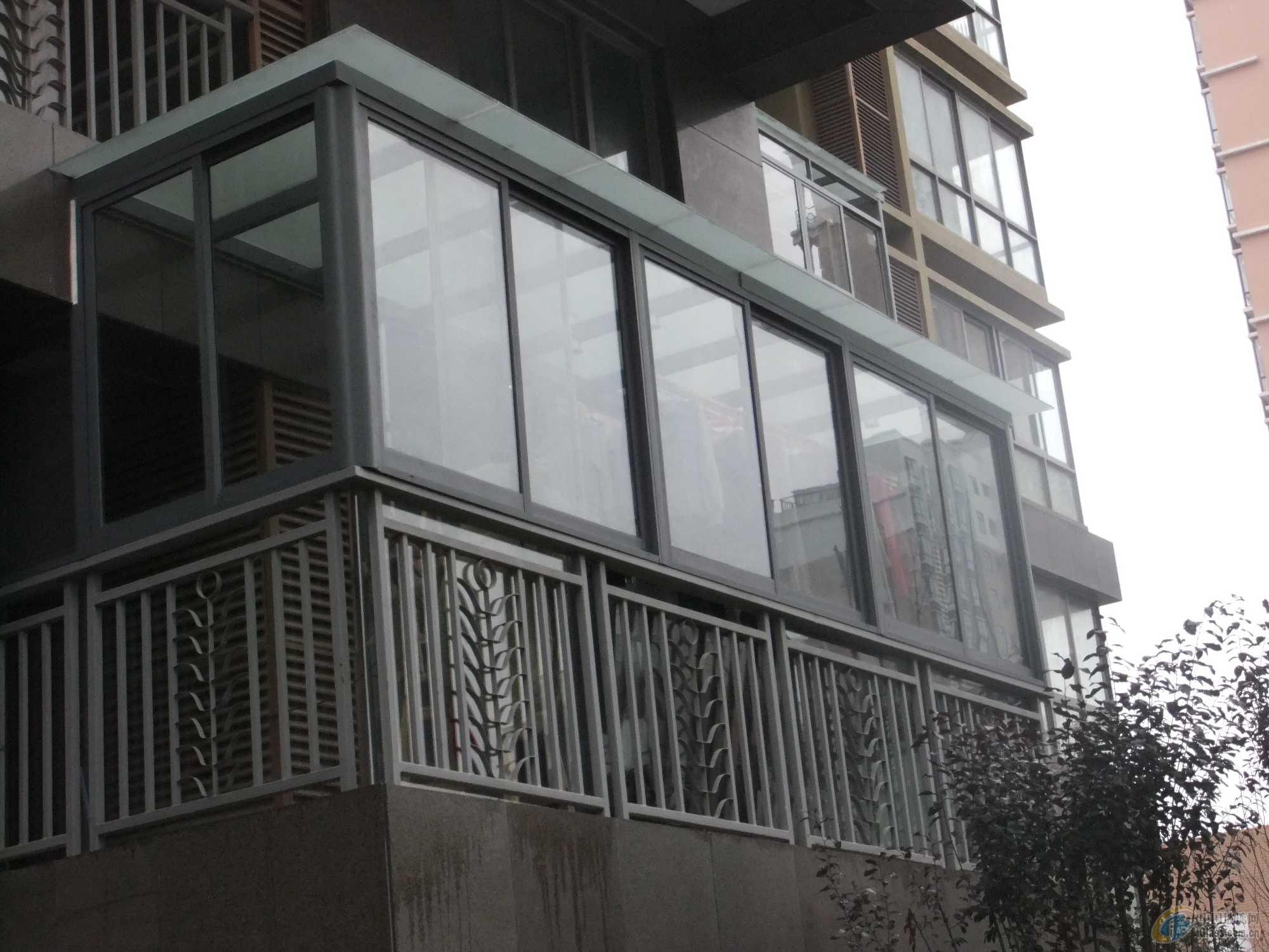 灰色阳台效果图大全
