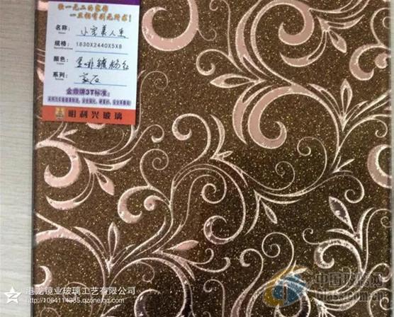 供应广东地区工艺玻璃图案花纹