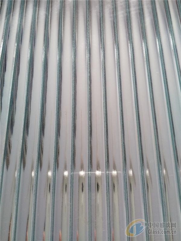 银色小长虹玻璃 压花玻璃