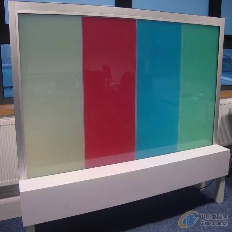 彩色调光玻璃 汇驰雾化玻璃厂家定制