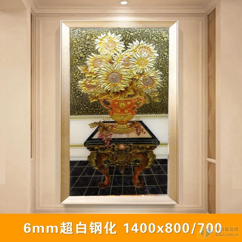中国玻璃网 资讯 产品图片 > 欧式风格进门玄关雕刻装饰画  &#xe636