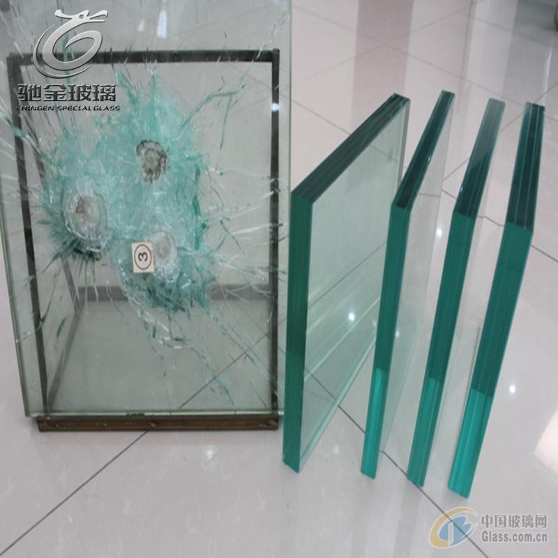 驰金专业防弹玻璃 银行、展厅专用