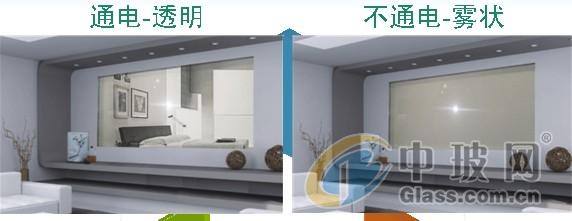 电控智能调光雾化玻璃隔断扬州智能调光雾化玻璃