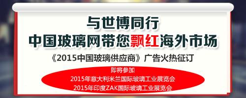《2015中国玻璃供应商》