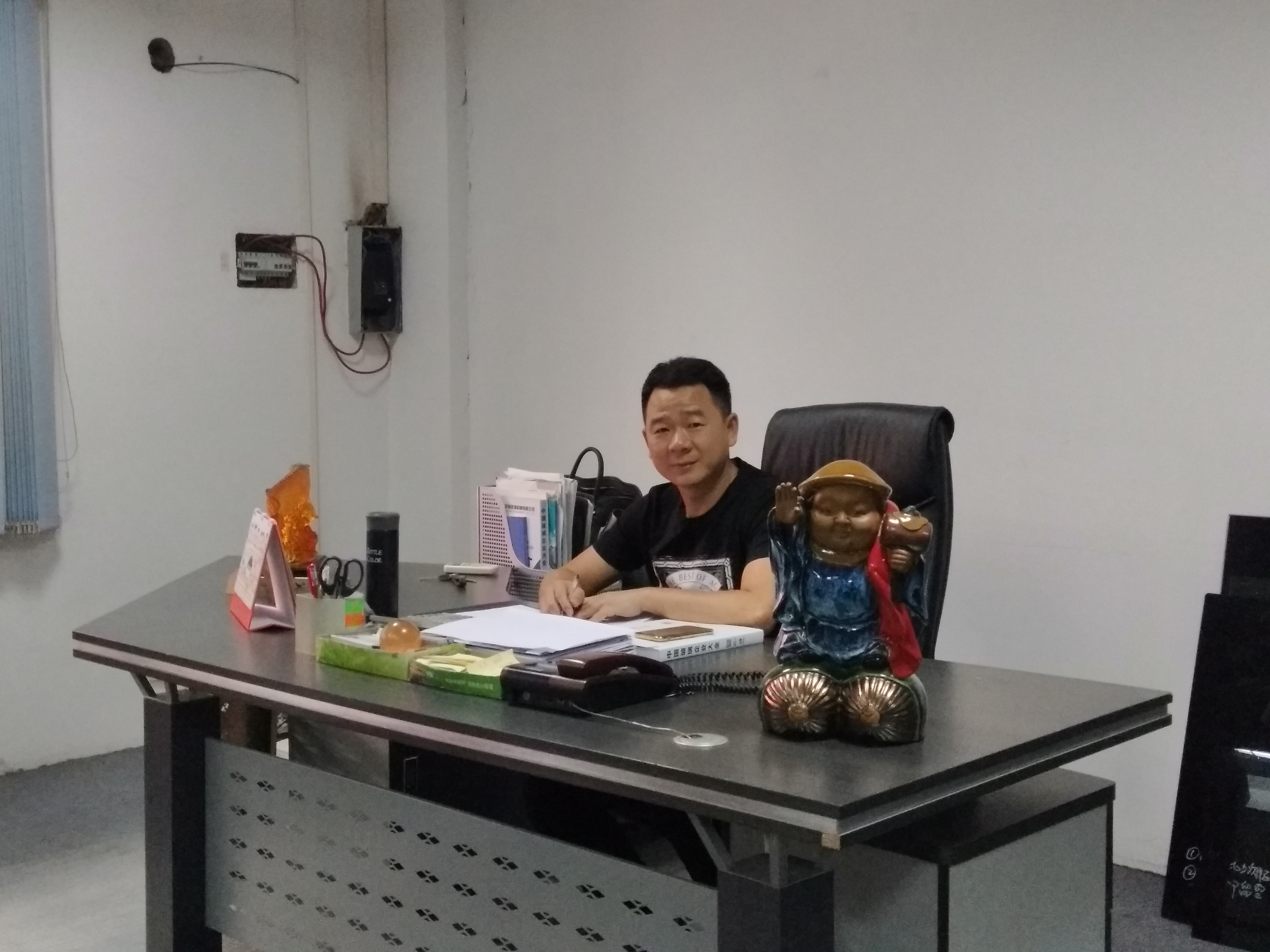中国玻璃网专访佛山市采田总经理邓伟