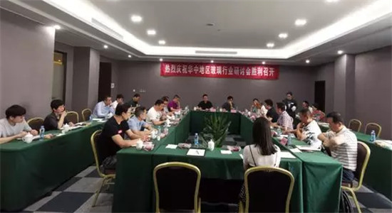 华中地区玻璃行业研讨会在南昌胜利召开