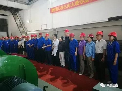 海南科技承接的500T/D浮法玻璃生產線升級改造項目順利點火投產