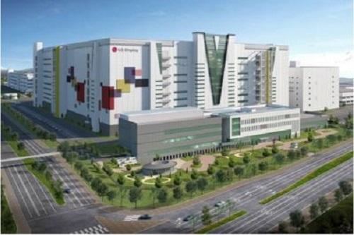 LG顯示通過中國工廠生產第8.5代OLED面板