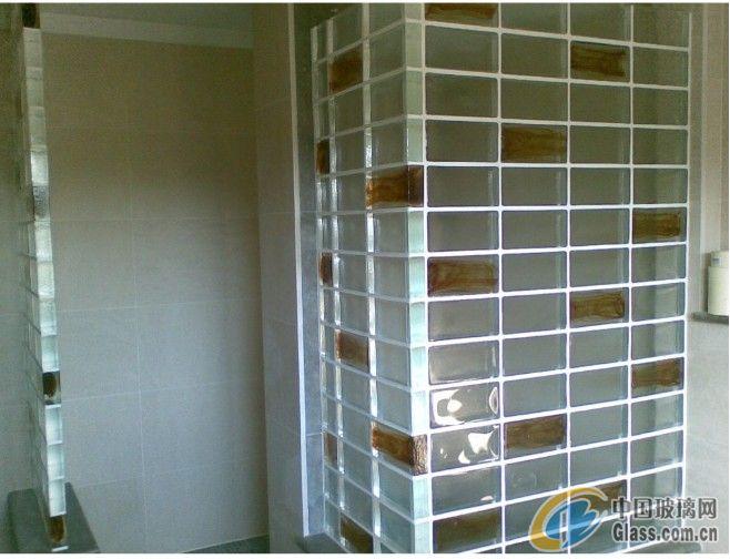 隔断   玻璃砖隔断装修 效果 图;   玻璃砖/外墙/ 隔断 /卫生