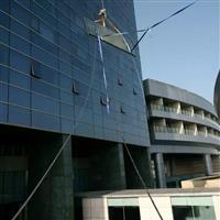 广州幕墙玻璃维修工程—建筑玻璃幕墙换胶—开窗改造