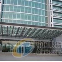 玻璃幕墙工程包维修安装/幕墙玻璃安装雨棚