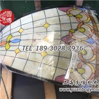 欧式蒂凡尼彩色玻璃穹顶圆博