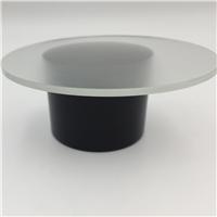 3.2mm圆形筒灯用灯具钢化玻璃厂家