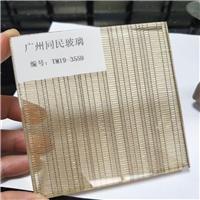 广州供应夹金属丝玻璃 夹丝钢化玻璃厂