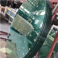 8mm钢化玻璃圆桌子