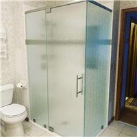 10mm钢化淋浴房玻璃加工