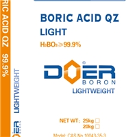 【山东】发光材料客户选用得尔轻质硼酸