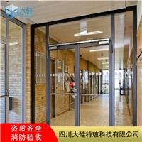 全玻璃防火门,不锈钢玻璃防火门厂家,高透光环保节能