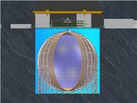 """中国建造超大玻璃球求解""""幽灵粒子""""之谜"""