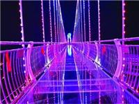 青岛也有高空玻璃桥了,还有灯光模式,你敢挑战吗?
