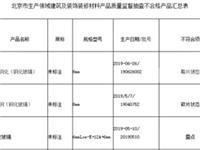 北京市市场监管局抽查显示:3批次建筑用玻璃不合格