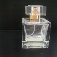 透明正四方香水瓶
